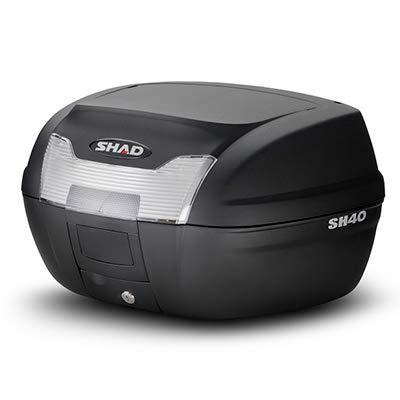 SHAD(シャッド) SH40 トップケース 無塗装ブラック SH40 SH40