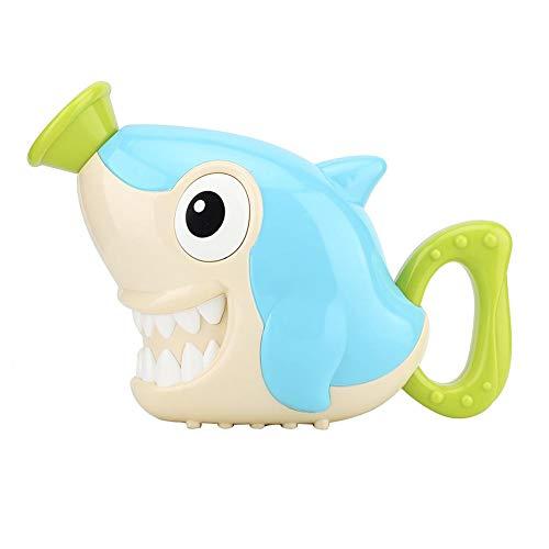 Kinder Kinder Baby Bad spielen Wasser Dusche rotierenden Spray Spielzeug Handpumpe Spielzeug(Hai)