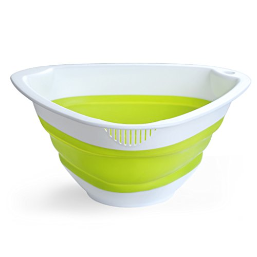 YYHSND Colorido Acolchado Cocina Cocina De Arroz Desagüe De Plástico Cesta De Lavado Suministros De Cocina Canasta De Frutas Lavado De Tamiz De Arroz Bandeja de Frutas