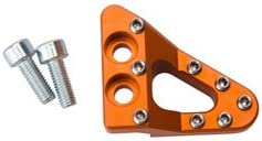 Clean Speed Stepped Brake Pedal Pad Gorgeous 2012 Orange XC-W for low-pricing 500 KTM