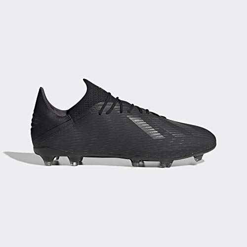 adidas Herren X 19.2 Fg Fußballschuhe, Schwarz (Core Black/Utility Black/Silver Met. Core Black/Utility Black/Silver Met.), 44 EU