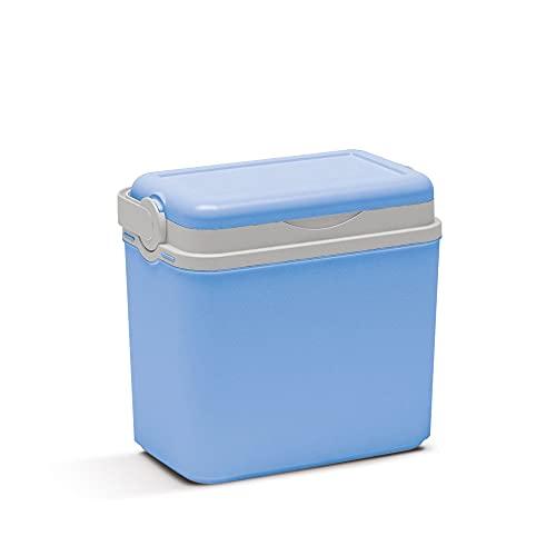 Kühlbox | Passive Kühlbox | Kühltaschen aus Kunststoff mit polystyrol thermische Isolierung (10 L, Hellblau)