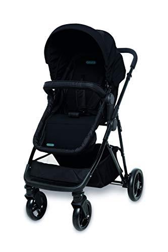 Carrinho de Bebê 3 em 1 Bebeliê, Travel System Paris, Preto - CBT-01