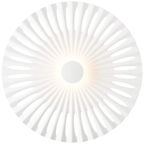 BRILLIANT lamp Phinx LED wandlamp 32cm wit |1x 12W LED geïntegreerd, (1282lm, 3000K) |Schaal A ++ tot E |Decoratieve achtergrondverlichting aan de muur of het plafond