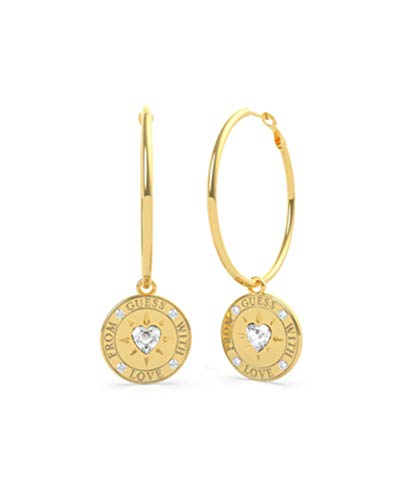 GUESS Pendientes de aro from with Love UBE70027