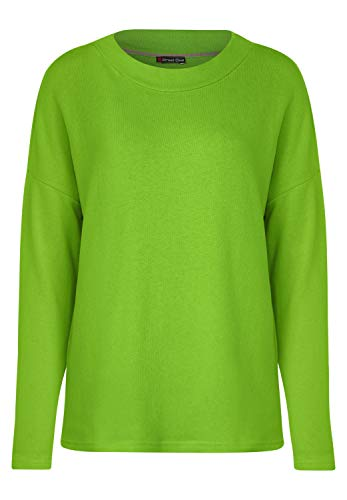 Street One Damen 314484 Gila Langarmshirt, Grün (Flash Lime 12133), (Herstellergröße: 38)