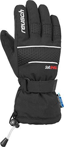 Reusch Jungen Connor R-TEX XT Junior Handschuhe, Black/White, 5