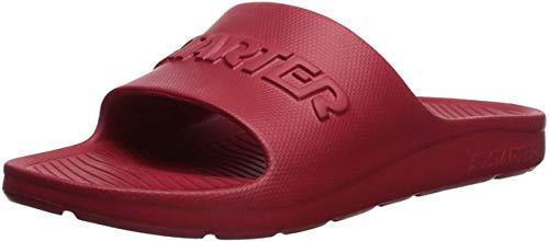 Starter Men's Performance Slide Sandal, Amazon Exclusive, Team Red, 10 Standard US