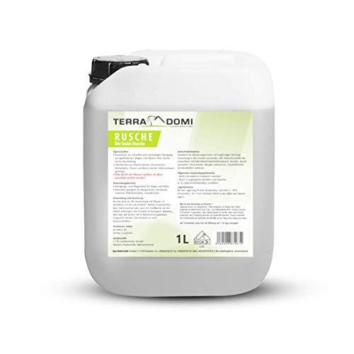*** Winterprijs *** TerraDomi Rusche de stenen douche, 1 l, steenreiniger voor maximaal 400 m2, reinigingsmiddel voor schone wegen & pluizen, wegen, biologisch afbreekbaar