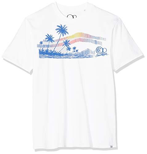 Ocean Pacific Surf Sketch Camiseta para Hombre