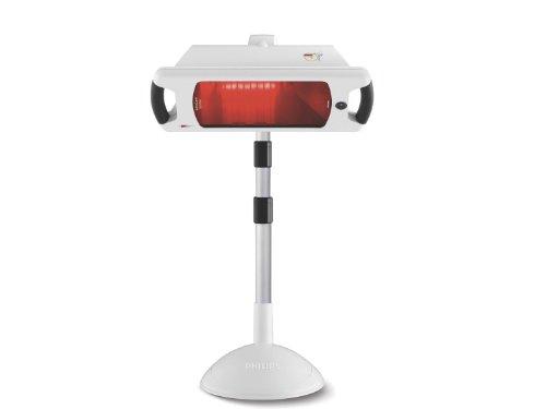Philips HP3643/01 Lampada a infrarossi InfraCare Trattamento a mezzo busto da 650 W, 124 cm