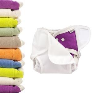 Popolini Windelset One Size Soft 10x Windel + 2 Stück Stay Dry + 1 Überhose Popowrap