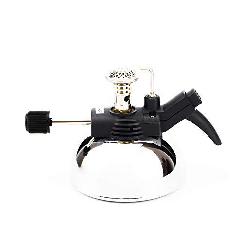 Aufblasbare importierte elektronische Bunsenbrenner kleine Bunsenbrenner-Labor-Gashandhabungs-Instrumente Labor-Bunsenbrenner-Gasbrenner,Black