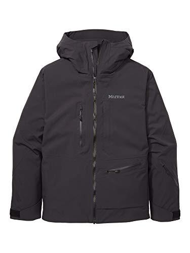 Marmot Refuge Jacket Chaqueta para la Nieve rígida, Ropa de esquí y Snowboard, Resistente al Viento, Resistente al Agua, Transpirable, Hombre, Black, L