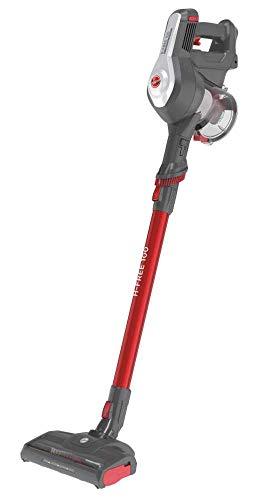 Hoover H-FREE 100 PETS Akku-Staubsauger, 2-in-1, Mini-Turbodüse für Tierhaare, bis zu 40 Min. Laufzeit, motorisierte LED-Bodendüse, beutellos, kabellos, Modell: HF122GPT