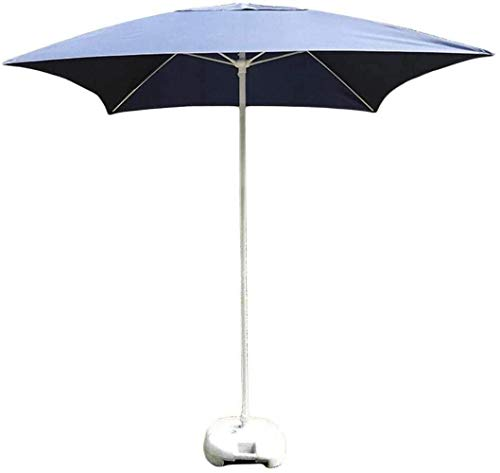 ZHANGYY Paraguas al Aire Libre Sombrillas portátiles Sombrilla Cuadrada para Mesa de jardín, Ideal para Patio al Aire Libre, Mercado de Eventos comerciales de Playa (Color: LighBlue) (Colo