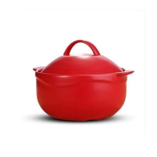 Gusseisen Topf Suppentopf - Keramik Porzellan Suppenschüssel mit Griff Französisch Zwiebelsuppe Bowl Aufläufen sind geeignet für die Dünste