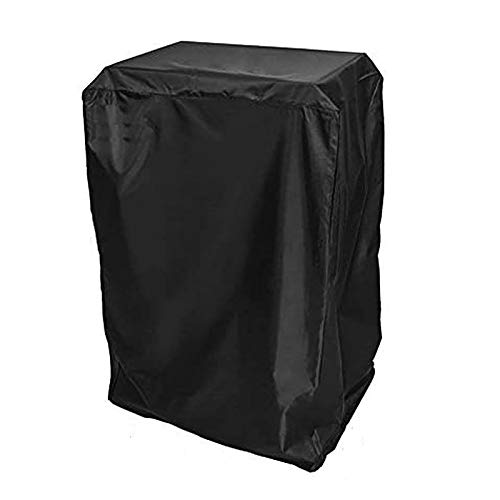 BBQ funland Cover for Masterbuilt 40' Propane Smokers and Others, Heavy Duty Electric Smoker Cover Waterproof, Black