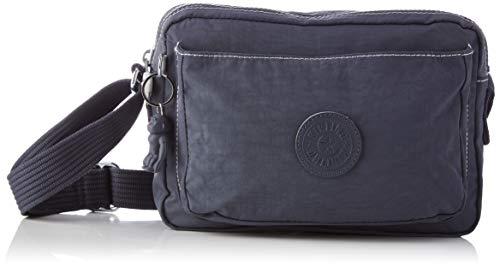 Kipling Women's ABANU M Crossbody Bag, Grey Slate, Medium