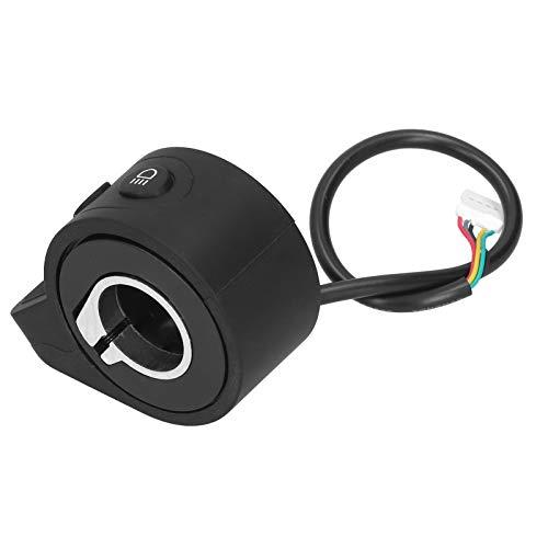 Alomejor Interruptor Integrado ABS Duradero de Repuesto del Acelerador del Acelerador de Scooter eléctrico para Scooter de Bicicleta eléctrica X6 / X7 / X8