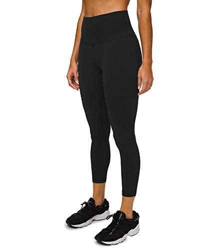 Lululemon Align II Stretchy Yoga Pants - High-Waisted Design, 25 Inch Inseam, Black, Size 4