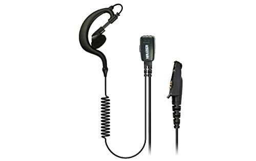 NAUZER PIN-29-M5 Pinganillo Profesional Micro-Auricular para Walkies Talkies Motorola GP344 / 388 / 328plus / 338plus / EX500 / EX600