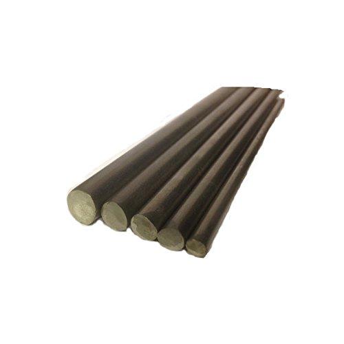 Barra acero inoxidable de 16 mm dimetro T316-300 mm longitud tama¤o redonda:...