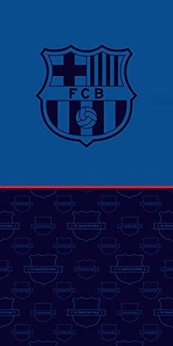 AC-Déco Fcb192026-r - Toalla de playa (70 x 140 cm), diseño del FC Barcelona