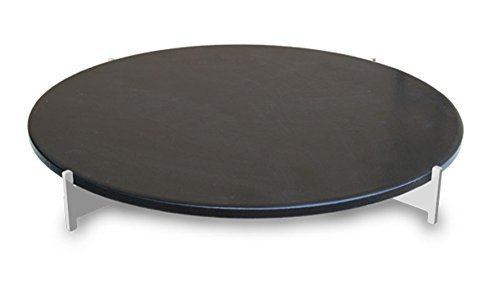 LotusGrill Pizzastein-Set! Speziell entwickelt für den raucharmen Holzkohlegrill/Tischgrill