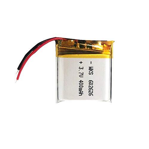 1 unids 400 mAh 3.7 V 602626 polímero litio batería recargable, para LED luz Bluetooth auriculares Mp3 Mp4 controladores remotos reloj inteligente