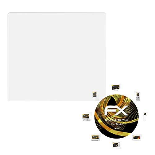 atFoliX Panzerfolie kompatibel mit Fitbit Ionic Schutzfolie, entspiegelnde und stoßdämpfende FX Folie (3X)