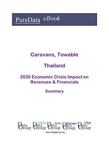 Caravans, Towable Thailand Summary: 2020 Economic Crisis Impact on Revenues & Financials (English Edition)