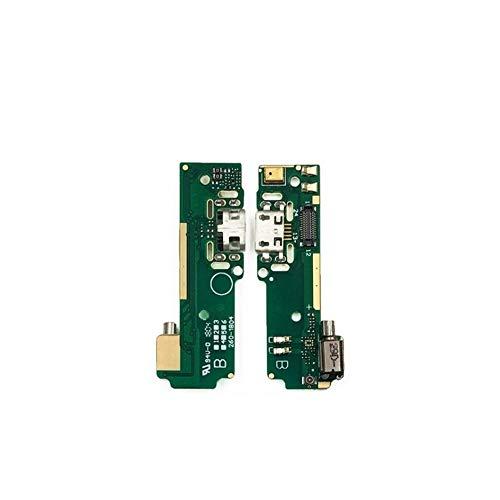 HDHUIXS Compatibilidad El Nuevo USB de Carga Carga de reemplazo Puerto de conexión Junta Flex Cable For Sony Xperia XA F3111 F3112 F3113 F3115 F3116 Piezas Profesional