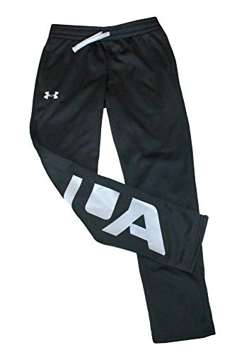 Under Armour Youth Boys Track Pants 1331651 (M 10/12) Black