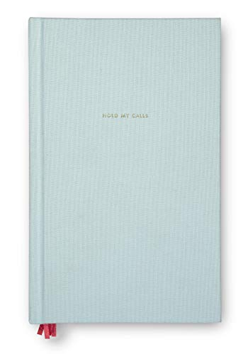 Kate Spade New York Hardcover Word to The Wise Journal, 8.5' x 5.5' with 300 Pages (Hold My Calls)