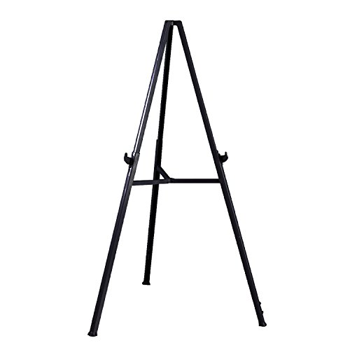Ghent 19250 Triumph Folding Display Easel- 37'- 62' adjustable hieght for table top/floor, gray
