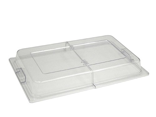 Hinged Chafer Lid Cover Clear Plastic for Catering or Buffet by Zodiac