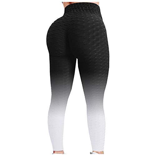 XIAOYUAN Legging de Sport Femme Legging Anti-Cellulite Butt Lift Pantalons Taille Haute Push Up Sexy Pantalon de Yoga Leggings de Compression pour Gym,Running,Pilates,Fitness