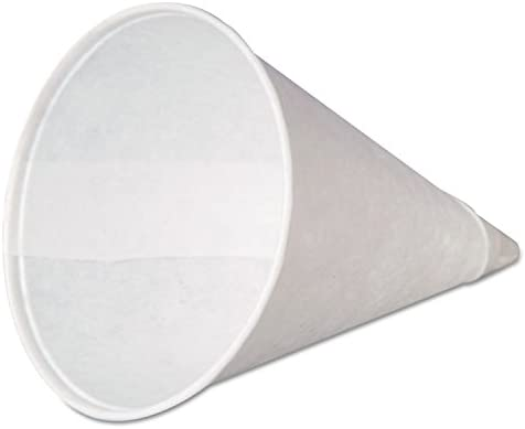 Genpak's W4F Animer and price revision 4 oz Rolled Rim C Cone Paper Dispenser Cup Fits Max 46% OFF