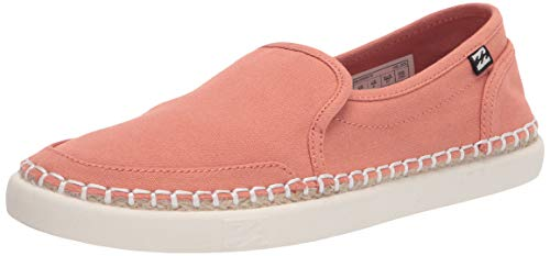 Billabong womens Del Sol Slide Sneaker, Sunset Orange, 6.5 US