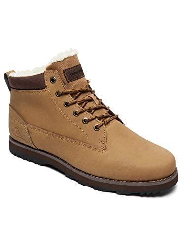 Quiksilver Mission V-Shoes For Men, Botas de Nieve para Hombre, Beige (Tan-Solid Tkd0), 43 EU