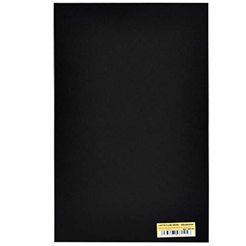 Pack de 8 Tableros de cartón pluma de doble cara, 60 x 40 cm espesor 5 MM, Color NEGRO, Cartón de espuma ligera para presentaciones, proyectos de arte y enseñanza, usos fotográficos.