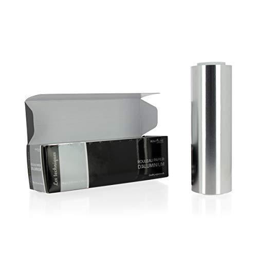 Beautélive Papier aluminium mèches 15 microns, 20cm x 100m Papier aluminium mèches 15 microns, 20cm x 100m
