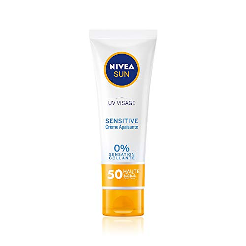 NIVEA Sun Gesichtscreme Sensitive FPS 50 50 ml