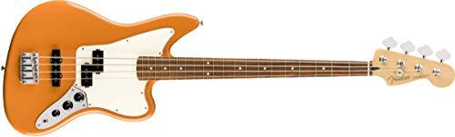 Fender Jugador Series Jaguar Bass - Pau Ferro - Capri Naranja