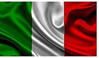 QA イタリア 国旗 フラッグ 4号 150×90cm サイズ