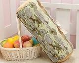 YZY Forma Redondo 38x7cm Fruta de Madera Impreso Asiento Cushon espumas Interiores de Madera Que Forma la Almohadilla del Amortiguador del sofá Soft Care Health Relleno (Color : Phoenix)
