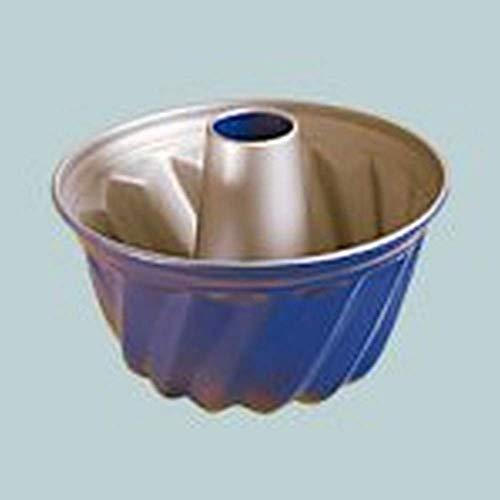 Zenker 4264 Single-Gugelhupfform 18 cm Blau/Silber