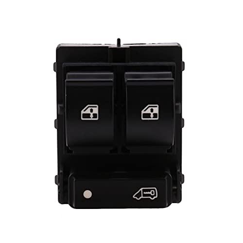 Yuanyuan Interruptor de la Ventana del automóvil 735487419 7354217140 735421419 6490x9 Fit para el Interruptor de elevación del Vidrio del Lado Derecho de Fiat Ducato (Color : Black)