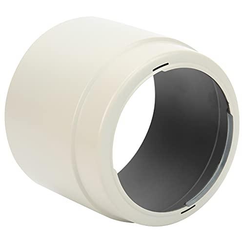 Deror Parasol para Objetivo, Parasol para Objetivo de cámara ET ‑ 83C Reversible para Objetivo Canon EF 100‑400 mm F/4,5‑5,6L IS USM Blanco